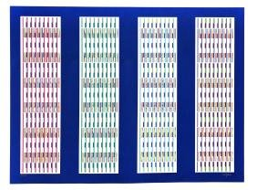 Four Visual Orchestrations by Yaacov Agam