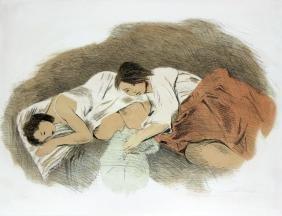Raphael Soyer - Two Sleeping Women
