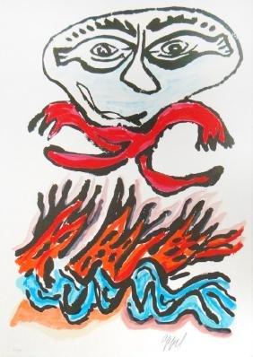 "Karel Appel ""Tantrika II"""