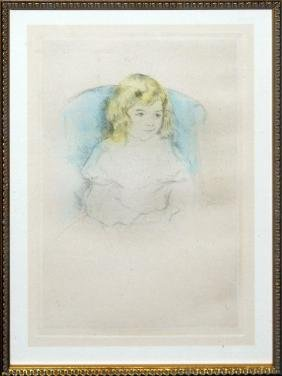 "Mary Cassatt ""Sarah Smiling"""