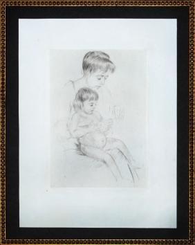 "Mary Cassatt ""The Manicure"""