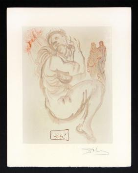 Salvador Dali - The Siren of the Dream, Hand Signed,