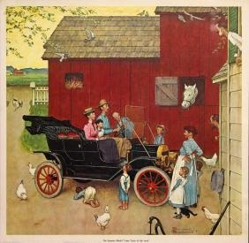 "Norman Rockwell ""The Street Was Never the Same"""