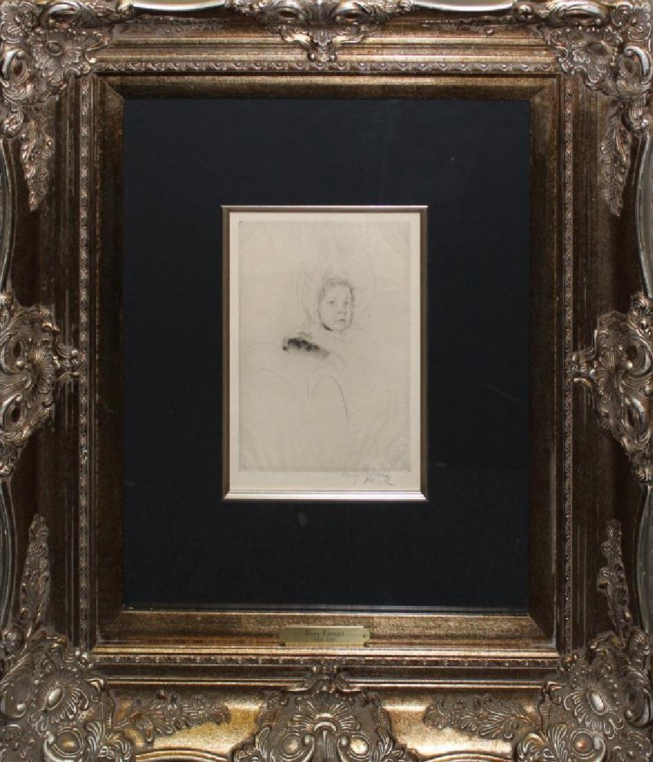 """Mary Cassatt """"Margot Wearing her Bonnet"""""""