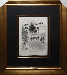 Pablo Picasso, from Carnet de la Californie Orig litho.