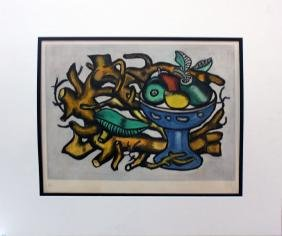 "Fernand Leger ""Le Compotier"" Orig Hand Signed Etching.."