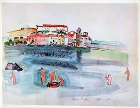 "Raoul Dufy - Untitled, from ""40 Disegni di Maestri"