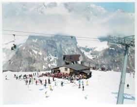 Courmayeur Mont Blanc by Massimo Vitali
