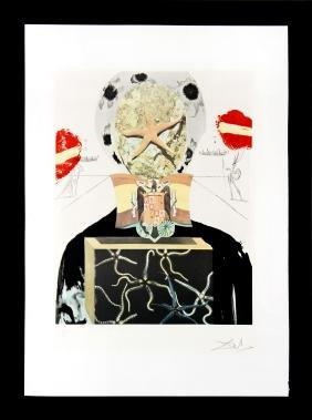 Surrealist King by Salvador Dali