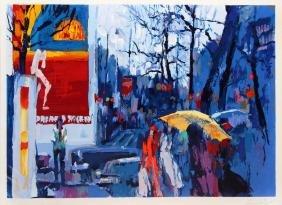 Paris: Dawn by Nicola Simbari