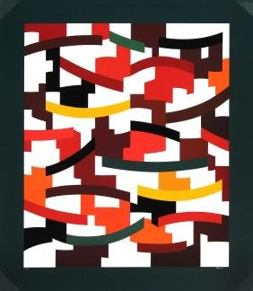 Composition by Yaacov Agam