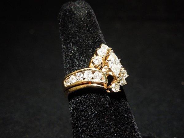 4: 14 kyg Diamond Wedding Set