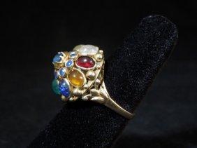 5: 17kyg Vintage Gemstone Ring