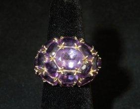14kyg Amethyst Ring