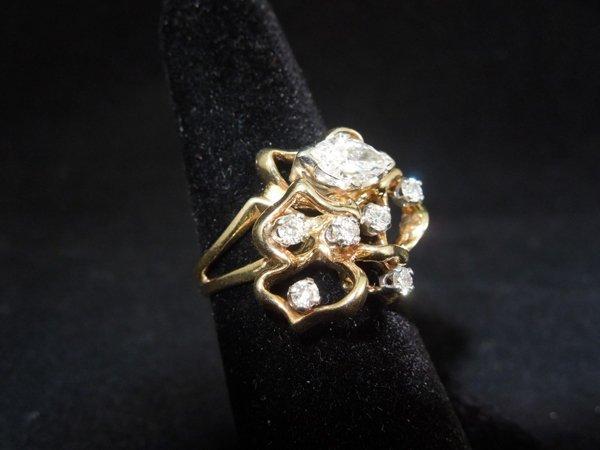 8: Custom Diamond Ring