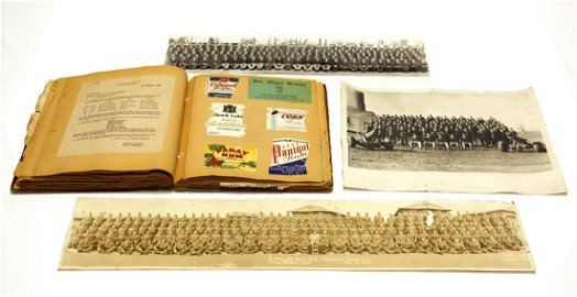 WWII U.S. Army Class Training Photographs and Military