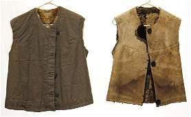 Pair of Original WWII German Army Fur-Lined Winter