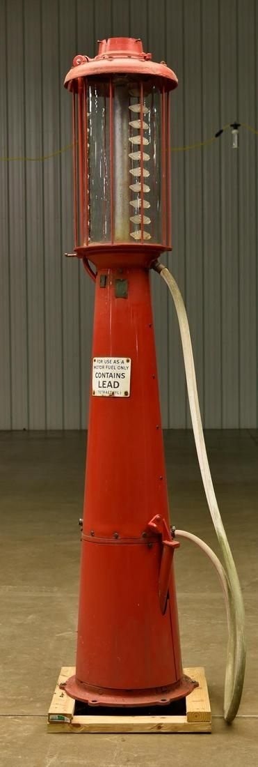 Visible Gas Pump