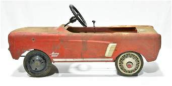 1964-1965 Ford Mustang Pedal Car
