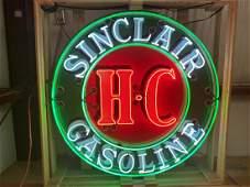 "Professionally Restored 48"" H-C Sinclair SSP Porcelain"