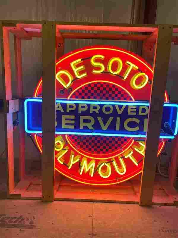 "Professionally Restored Plymouth Desoto 48"" SSP"