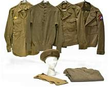 Original WWII Military Uniforms