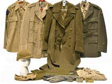 Original US Army Uniforms and Field Kit Collection