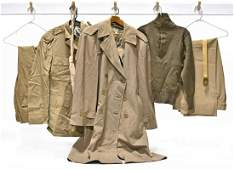Original WWII US Army Uniform Collection