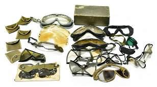 Original WWII Military Goggles