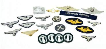 WWII German Luftwaffe Collection of Insignia