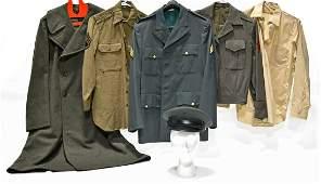 Original WWII and Cold War U.S. Military Uniforms