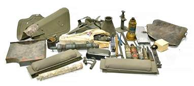 Original WWII U.S. Army Vehicle Parts