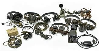 Original WWII U.S. Military Communication Components