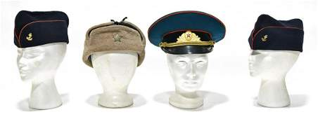 Original WWII and Post-WWII Soviet Garrison Cap and