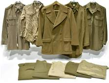 Original WWII Collection of U.S. Military Clothing