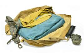 Original WWII U.S. Military Small Inflatable Raft with