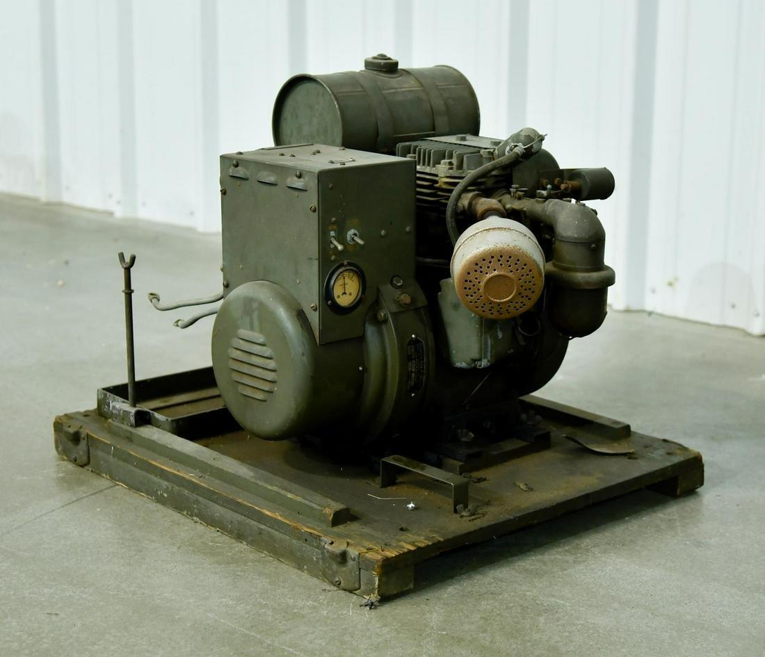 Original WWII Military Power Unit