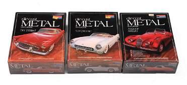Lot of 3 Monogram Diecast Car Models Sealed