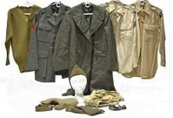 Original WWII U.S. Military Uniform Collection