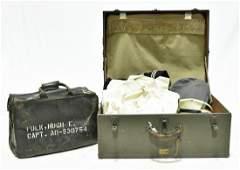 Original WWII U.S. Navy Storage Container, Various