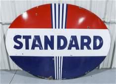 STANDARD Oil DS Porcelain Gas Station Sign