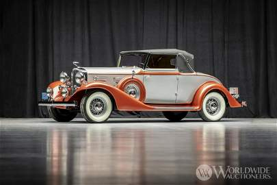 1933 LaSalle 345-C Convertible Coupe