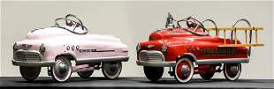 Two Children's Pedal Cars in the Style of Murray
