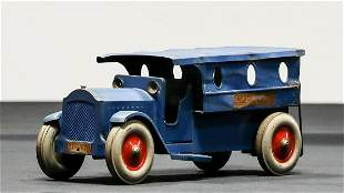 1920s Structo Police Patrol Pressed Steel Toy