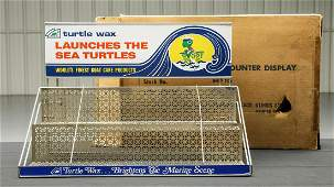 NOS Turtle Wax Display Rack with Box