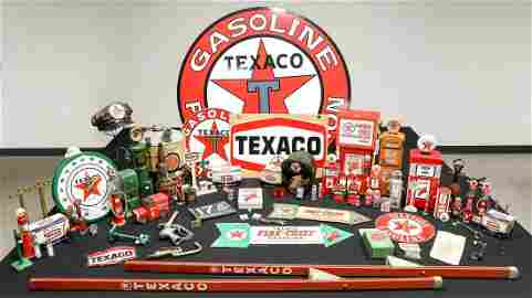 Large Collection of Texaco Related Memorabilia