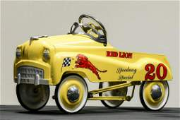 Red Lion Speedway Special Pedal Car by Burns Novelty