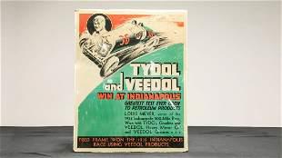 Tydol-Louis Meyer 1933 Indy 500 Victory Poster -