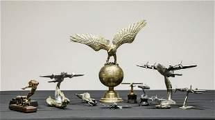 Trophies, Ornaments, Decorative Figures