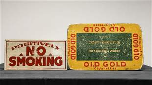 Two Smoking Related Items